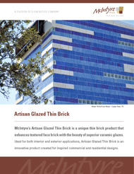 Artisan Glazed Thin Brick