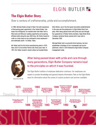 The Elgin Butler Story